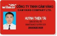 In thẻ nhân viên - NV2