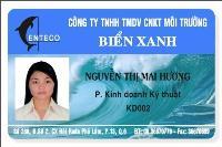 In thẻ nhân viên - NV3
