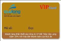 Thẻ VIP - thẻ khuyến mãi VC3